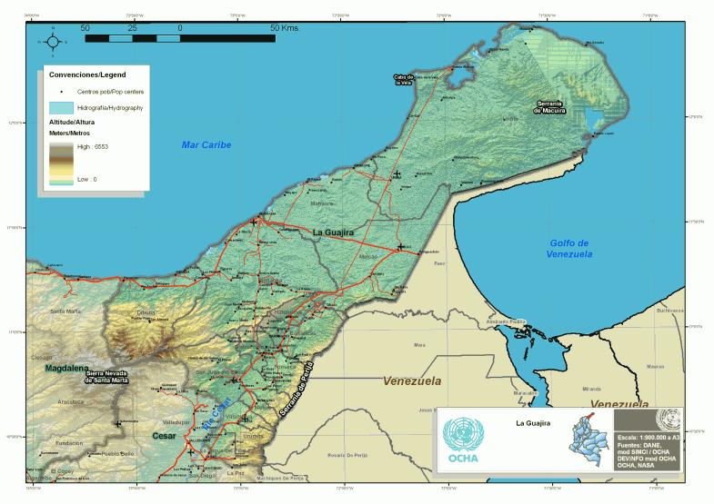 Über die Guajira und die Welt der Wayúu